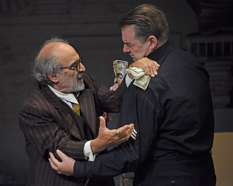 David Suchet and Brendan Coyle in The Price (c) Nobby Clark