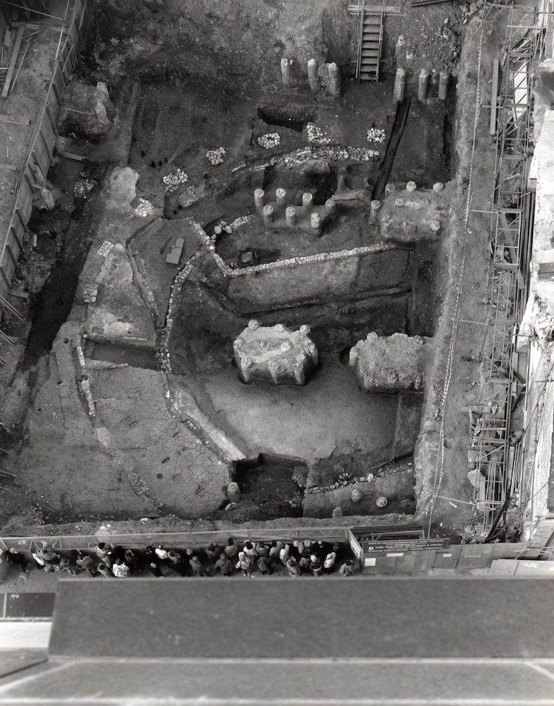 Rose excavation