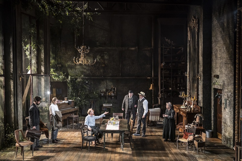 Uncle Vanya at the Harold Pinter Theatre (c) Johan Persson