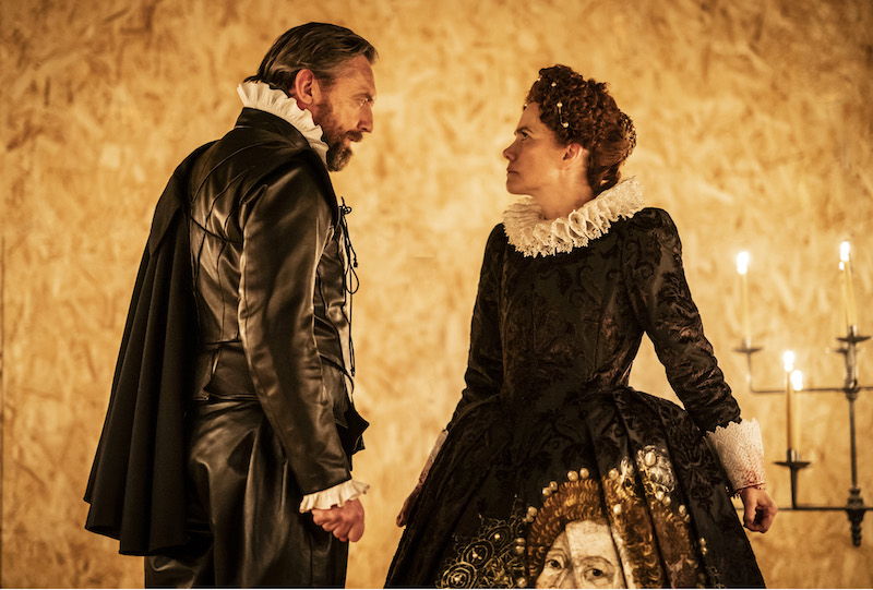 Colin Tierney and Abigail Cruttenden in Swive (Elizabeth)